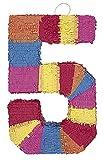 Multicolor Number Pinata - Five