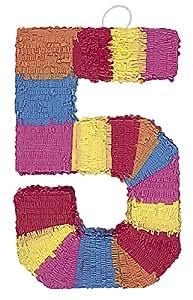 Unique Party -  Piñata Número 5 (6675)