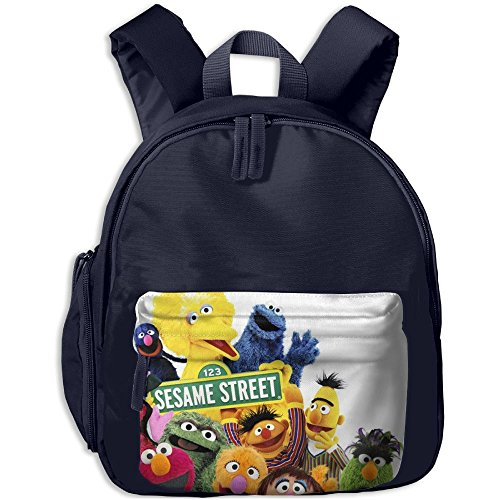 Baby Toddler Child Kid Life Lessons From Sesame Street Pre School Shoulder School Bag Navy (Sesame Street Abby Cadabby Halloween Costume)