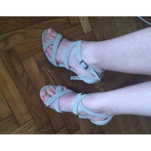 Confortable Soirée Mode Haut Gala Talon Bleu Clair Bretelles 2016 40 Femme Sandales De Chaussures wSfqWzHxYU