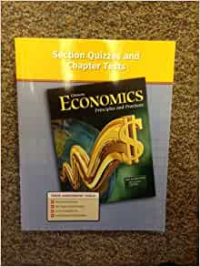 Glencoe economics principles and practices online book