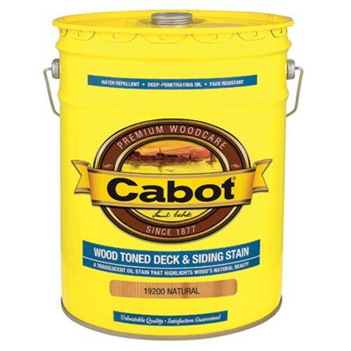 CABOT SAMUEL 19200-08 5GAL NTRL WD Deck Stain