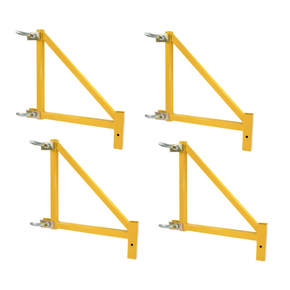 Offex 18 Inch Heavy Duty Steel Scaffolding Outrigger, 4 Piece Set
