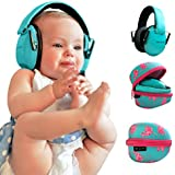 River & Luna Baby Hearing Protection Ear Muffs, Certified, 0-2 years (Teal)