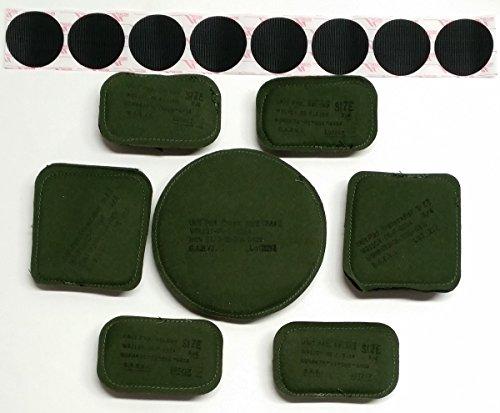 ACH & MICH Helmet Pad Set Olive Drab 3/4