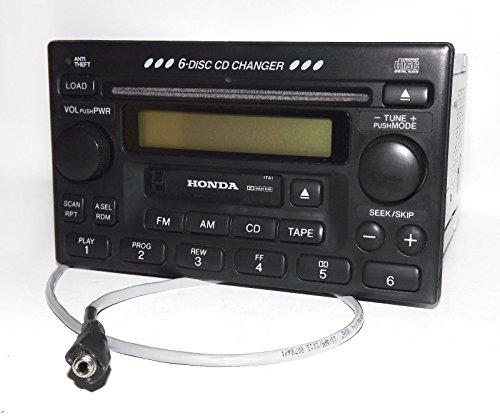 honda-98-02-accord-radio-am-fm-6-cd-cassette-w-aux-input-39100-s84-a300-1ta1