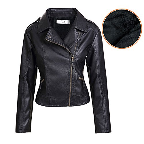 Slim Leather Motorcycle Jacket - 5