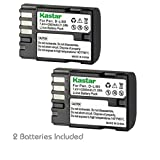 Kastar D-Li90 Battery (2-Pack) work with K-01 K-3 K-5 K-5II K-5IIs K-7 645D 645Z Cameras