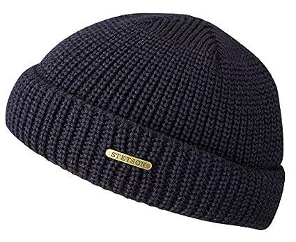 Stetson Nashville Merino Wool Docker Beanie Skull Cap (Navy) at ... d4f248f2617