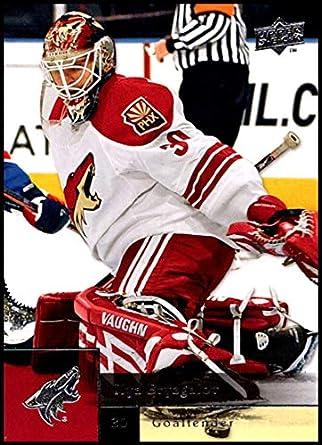 a287f35f9 2009-10 Upper Deck  411 Ilya Bryzgalov NM-MT Phoenix Coyotes Official NHL