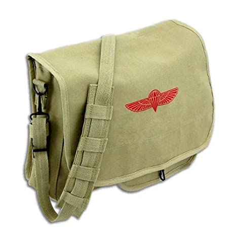 Amazon.com  Army Universe Khaki Retro Heavy Duty Canvas Israeli ... 1ae1a341032