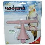 JW Pet Company Insight Sand Perch T Perch Bird Accessory, Regular, Assorted Colors
