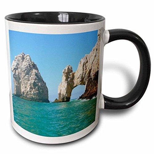 (3dRose 22787_4 Hole In The Rock Cabo San Lucas Mexico Mug, 11 oz, Multicolor)