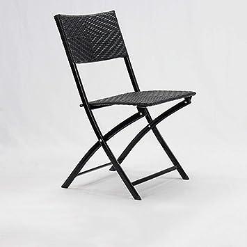 Chair Silla Plegable, Mesa de Comedor tapizada de Cuero ...