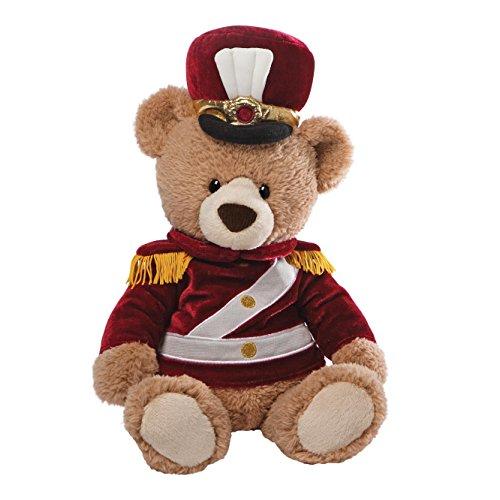 Gund Drilly Bear Tan 14 (Teddy Dressed Bear Christmas)
