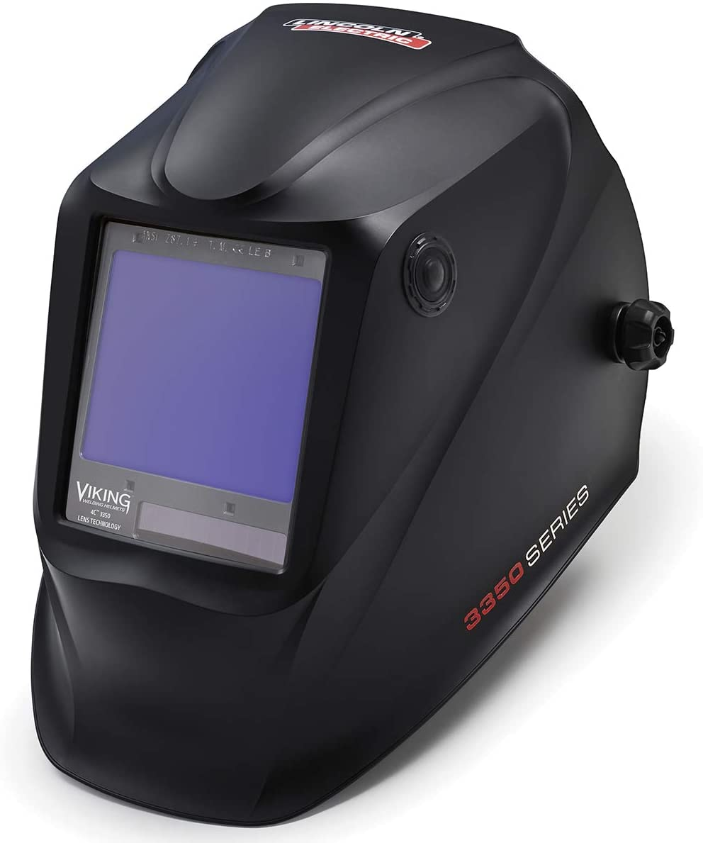 Top electric welding helmet: Lincoln Electric K3034-4 VIKING 3350