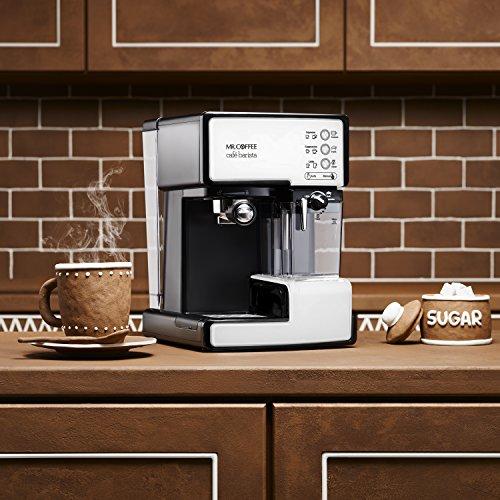 Mr. Coffee BVMC-ECMP1102 Cafe Barista Espresso Maker Machine,  White by Mr. Coffee (Image #4)
