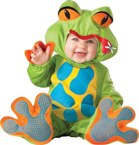 Saloon Madame Costumes (Lil Froggy Baby Infant Costume - Infant Large)