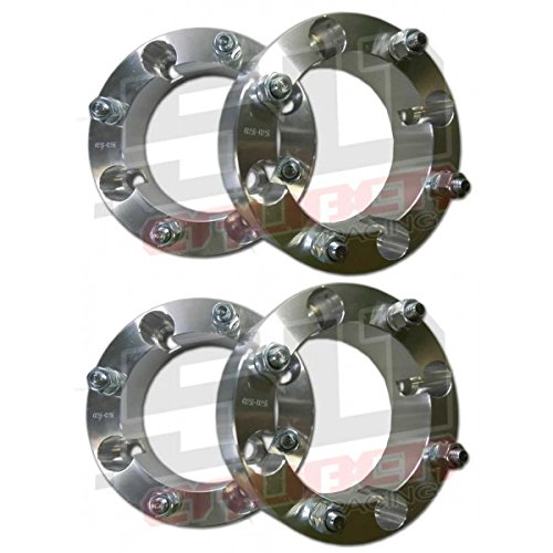 """Set of Four (4) Wheel Spacers - 4x156 – 2 Inch Thick – 3/8"""" Studs - Polaris RZR, RZR4, and Rangers Up to 2012 and some 2013 [5216]"""