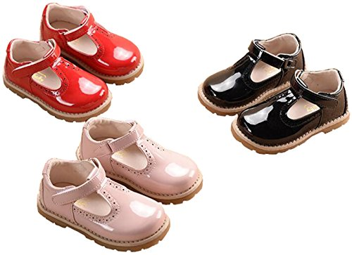 Image of PPXID Girl's British Retro T-Bar Princess Oxford Shoes(Toddler/Little Kid)