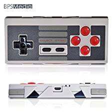 BPSMedia® Wireless Bluetooth Classic Wireless Pro Game Controller remote for iOS and Android Gamepad - PC - Windows - Mac - Linux - Square - Perfect to Play Classic Retro Games (RTNS30)