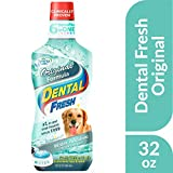 Dental Fresh Water Additive - Original Formula For Dogs - Clinicially Proven, Simply Add to Pet's Water Bowl to Whiten Teeth, Eliminate Bad Breath, and Improve Oral Health (32 oz. Bottle)