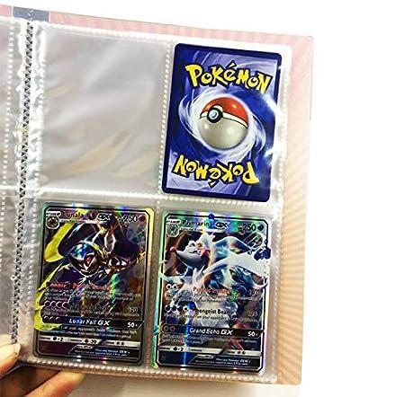 Comercio Tarjeta /Álbum Solgaleo Protecci/ón para Pokemon Trading Trainer GX EX Pokemon Cartas /Álbum Pok/émon Titular de Tarjetas