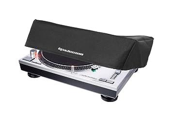 Turntable Dust Cover for RELOOP RP-1000/2000/4000/7000/8000 & STANTON ST.150/ST.100 / NUMARK NTX1000 / DENON DJ VL12 PRIME [Water Resistant, ...
