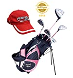 Paragon Golf Girls Golf Club Set, Pink, Ages 5-7 - Right Handed