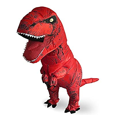 T-Rex Originals T-Rex Costume Inflatable Dinosaur Suit Halloween Adult Inflatable Costume