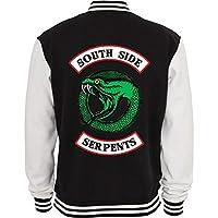 Jaqueta De Moletom College Criativa Urbana Riverdale Serpentes Série Seriado Logo2 - Masculina