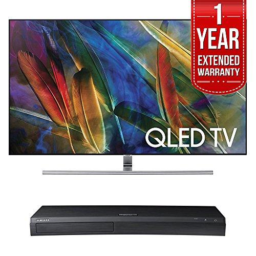 Samsung QN75Q7FAMFXZA Flat 75-Inch 4K Ultra HD Smart QLED TV