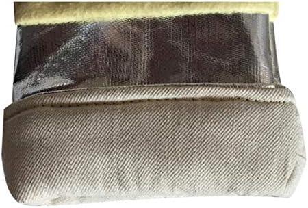 手袋 工業用ボイラー製錬鉄鋳造作業に適した高温耐性手袋抗火傷防止キッチンベーキング手袋 LMMSP