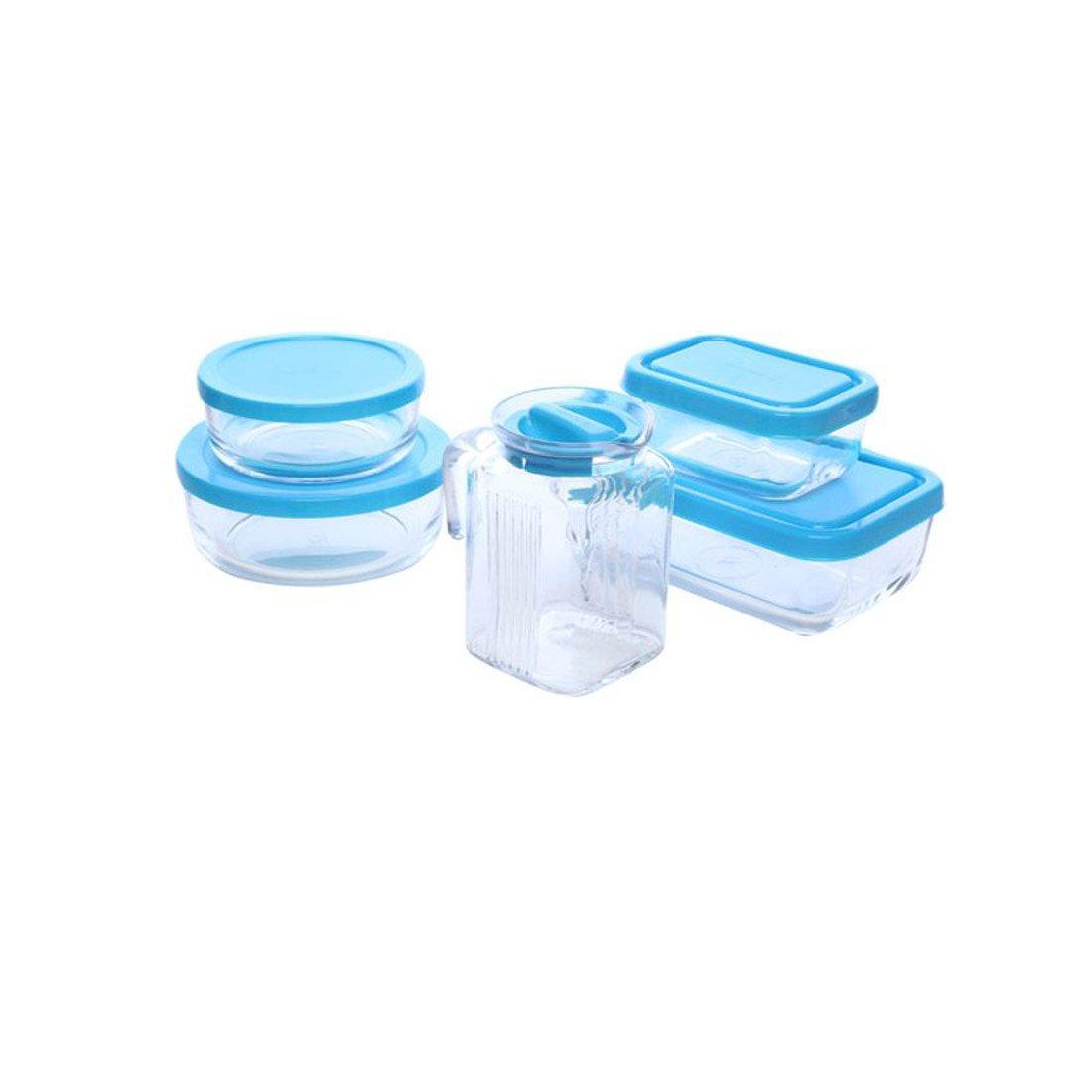 Pasabahce Polar - Juego de 5recipientes, Cristal, Transparente 172739