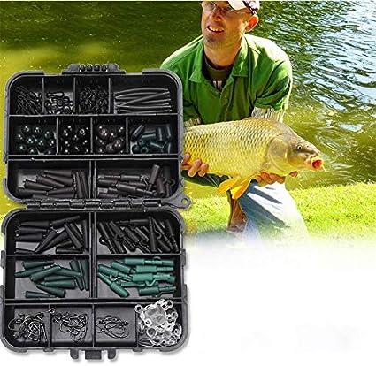 Boilie Karpfen angeln Haken Größe 4 // 6 Karpfen Rigs,10 x Hair Rig Pellets