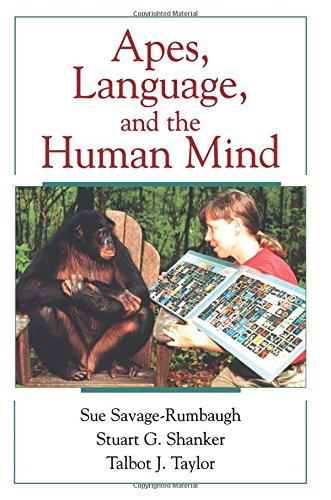 Apes, Language, and the Human Mind ebook
