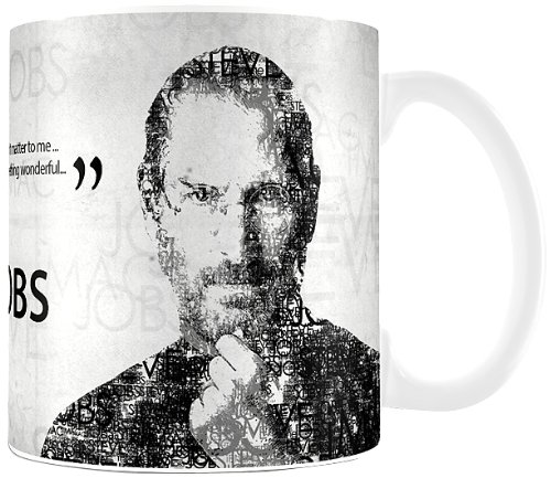 Posterboy 'Steve Jobs Quote' Ceramic Mug (White)