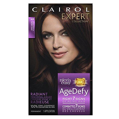 Clairol Age Defy Expert Collection, 4R Dark Auburn, Perma...