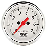 Auto Meter 1397 Arctic White Electric Tachometer