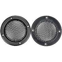 Aoshike 2pcs 2inch black treble speaker protective grille for plug-in card sound hood speaker