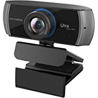 Full HD Webcam 1080P/1536P, Widescreen Video Calling and Recording, Web Camera with Microphone, Stream Cam for PC, Laptops and Desktop