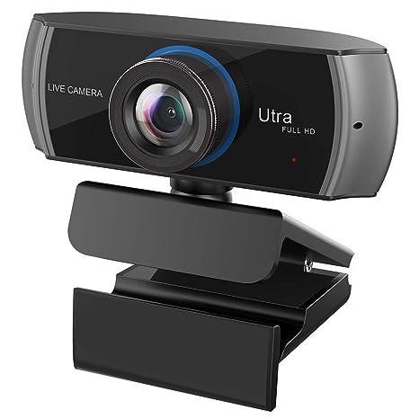 HuaLights Full HD Webcam 1080P/1536P, Videoclamada y Grabación de Pantalla Ancha, Cámara