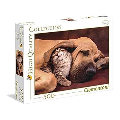 Clementoni 35020 Puzzle Fototeca Puppies 500 Pezzi Multicolore