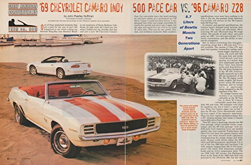 1969 CHEVROLET CAMARO INDY 500 PACE VAR  - 1969 Chevrolet Camaro Z28 Shopping Results
