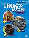 img - for I Read to Write Responding to Sources Teacher Edition 4 book / textbook / text book