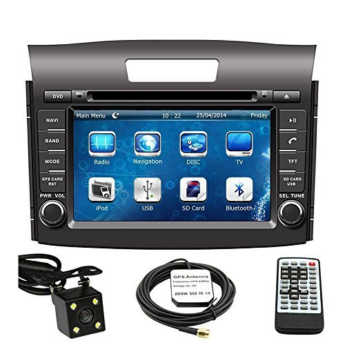 51C3bd0clrL amazon com car gps navigation system for honda crv 2012 2013 2014 2014 Honda CR-V at mifinder.co