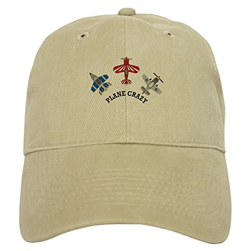 [CafePress - Aviation Plane Crazy Cap - Baseball Cap with Adjustable Closure, Unique Printed Baseball] (Crazy Christmas Hats)
