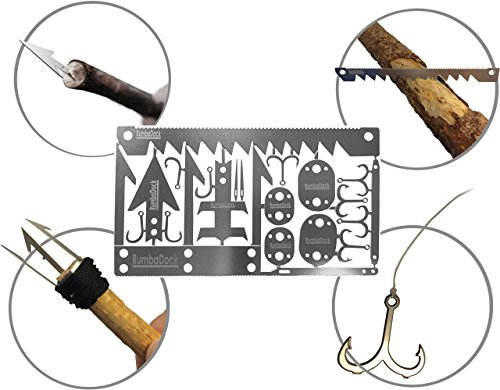 Survival-Gear-Credit-Card-Multi-Tool-2-Pack-Best-Bug-Out-Bag-Shtf-Camping-Multipurpose-EDC-Multitool-Fishing-Hooks-Arrowheads-Saws-Hunting-Survival-Kit-Disaster-Preppers-Emergency-Gift-Idea