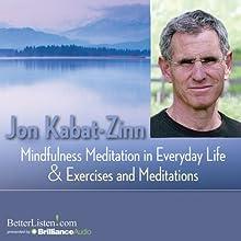 Mindfulness Meditations in Everyday Life and Exercises and Meditations Discours Auteur(s) : Jon Kabat-Zinn Narrateur(s) : Jon Kabat-Zinn