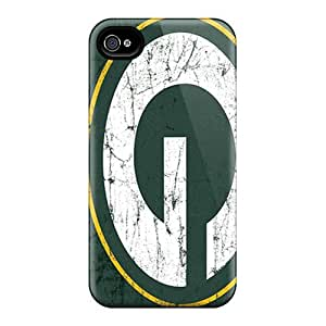 Hot YPa2104hnQB Green Bay Packers Tpu Case Cover Compatible With Iphone 4/4s